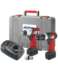 ARK2096I-3 - ACDelco - 3 in 1 Kit - 2 Speed Hammer Drill / Driver Impact Wrench and Impact Driver