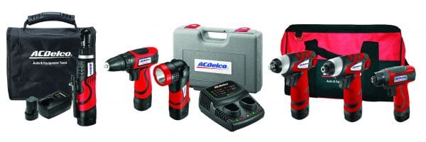 ACDelco 7.2V Compact Tool Multi Kit