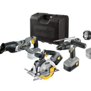 Durofix 18V Construction Combi 4 in 1 Kit